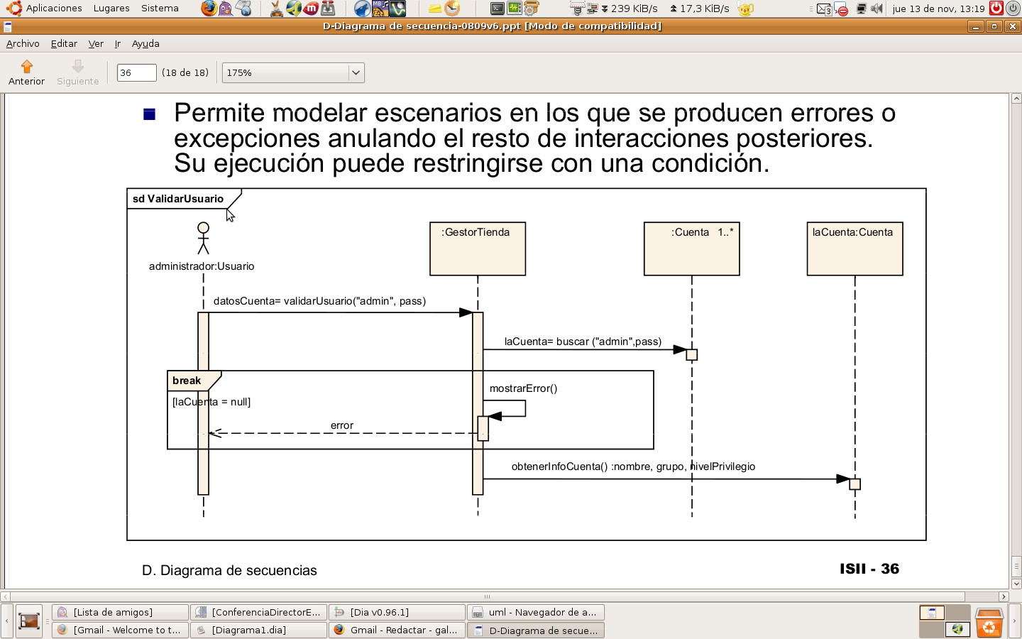 Sequence Diagram With Dia Using Break  Loop  Alt  And Opt