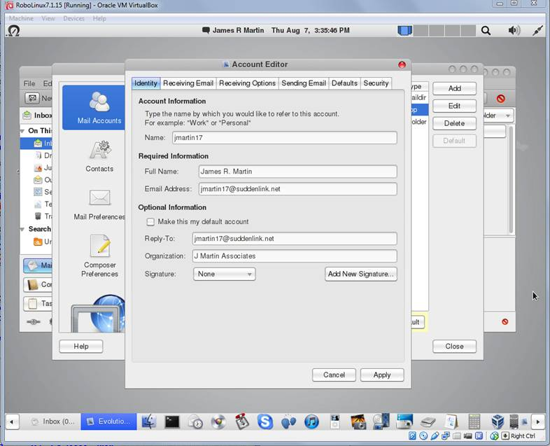 Re: [Evolution] Installing evolution 3 12 in Ubuntu 14 04